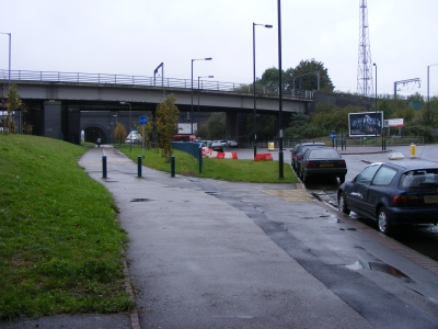 The old North Circular Road at Stonebridge Park